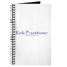 Reiki Practitioner purple Journal