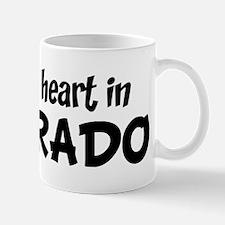 Left my Heart: COLORADO Mug