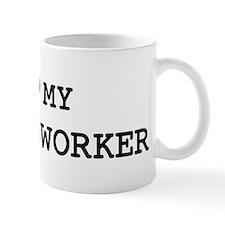 I Love My RESCUE WORKER Mug