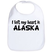 Left my Heart: ALASKA Bib