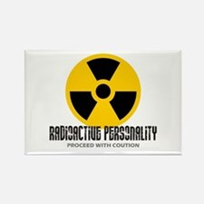 Radioactive personality Rectangle Magnet