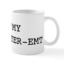 I Love My FIREFIGHTER-EMT Mug