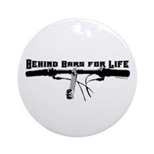 Behind Bars For Life Ornament (Round)
