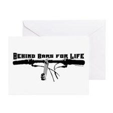 Behind Bars For Life Greeting Cards (Pk of 10)
