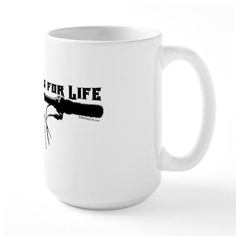 Behind Bars For Life Large Mug