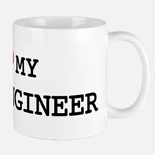 I Love My FIRE ENGINEER Mug