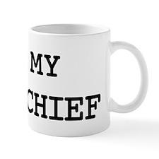 I Love My FIRE CHIEF Mug