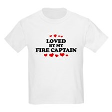 Loved by: FIRE CAPTAIN Kids T-Shirt