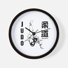 Judo Throw Wall Clock