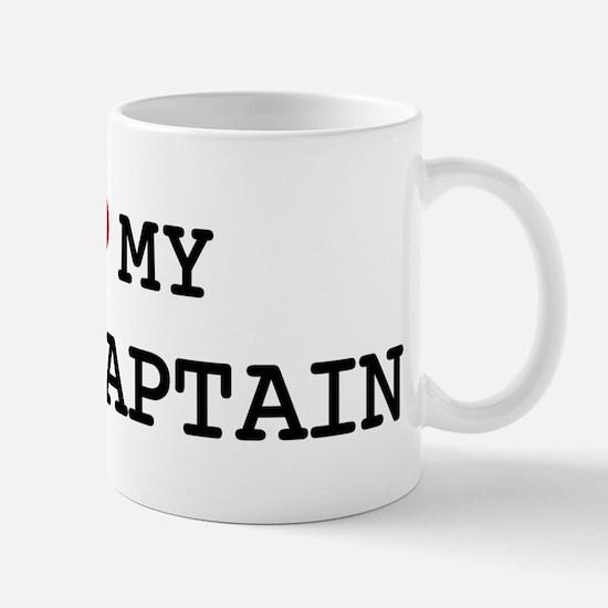 I Love My FIRE CAPTAIN Mug