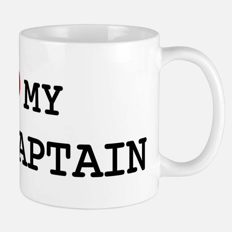 I Love My FIRE CAPTAIN Mug