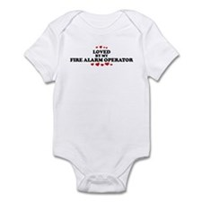 Loved by: FIRE ALARM OPERATOR Infant Bodysuit
