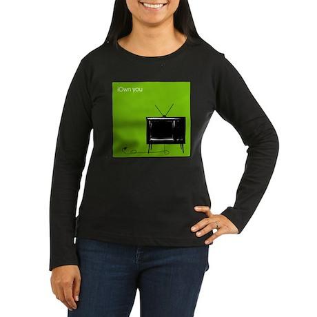 iOwn you Women's Long Sleeve Dark T-Shirt