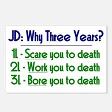 JD = Three Years Postcards (Package of 8)