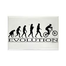 Evolution (Mt. Biking) Rectangle Magnet