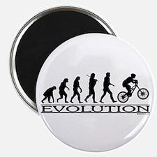 Evolution (Mt. Biking) Magnet