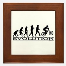Evolution (Mt. Biking) Framed Tile