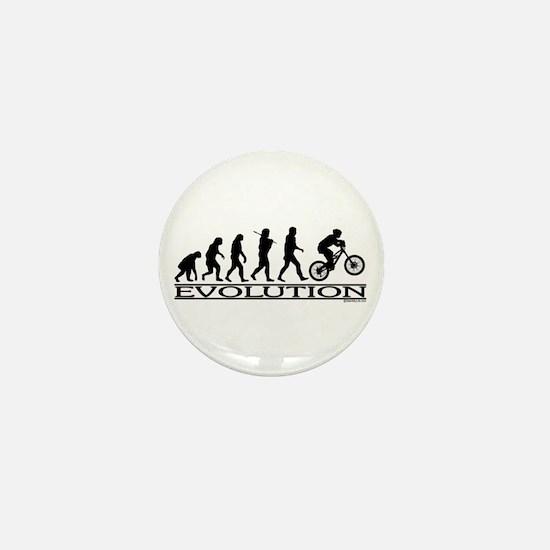 Evolution (Mt. Biking) Mini Button