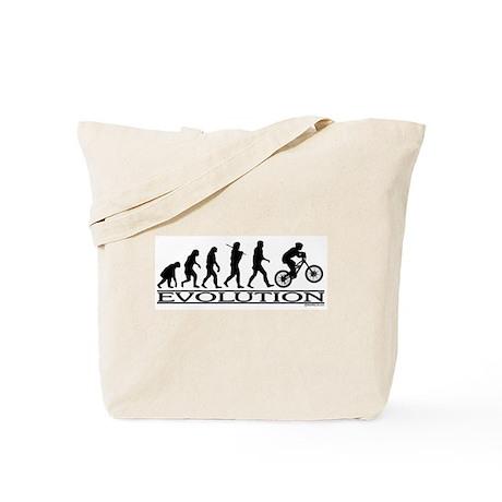 Evolution (Mt. Biking) Tote Bag