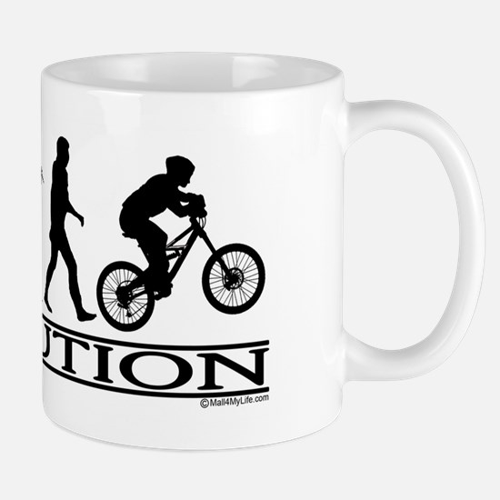 Evolution (Mt. Biking) Mug