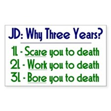 JD = Three Years Decal
