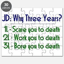 JD = Three Years Puzzle