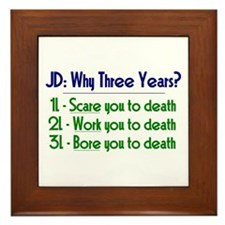 JD = Three Years Framed Tile