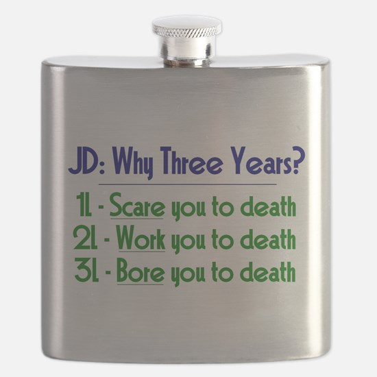 JD = Three Years Flask