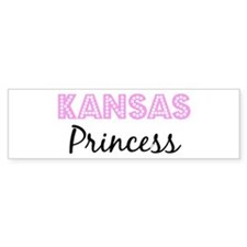 Kansas Princess Bumper Bumper Sticker