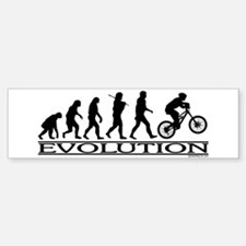 Evolution (Mt. Biking) Bumper Bumper Bumper Sticker