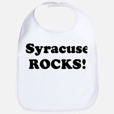 Syracuse Rocks! Bib