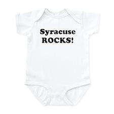 Syracuse Rocks! Infant Bodysuit