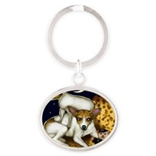moonratter                           Oval Keychain