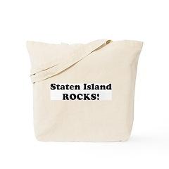 Staten Island Rocks! Tote Bag