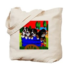 bernesedogs                               Tote Bag