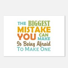 The Biggest Mistake Postcards (Package of 8)
