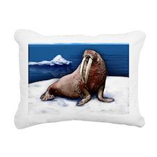 wolrus copy              Rectangular Canvas Pillow