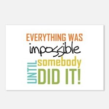 Impossible Until Somebody Did It Postcards (Packag