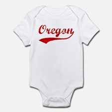 Red Vintage: Oregon Infant Bodysuit