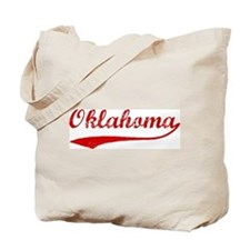 Red Vintage: Oklahoma Tote Bag