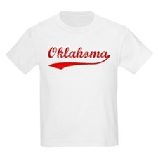 Red Vintage: Oklahoma Kids T-Shirt
