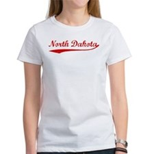 Red Vintage: North Dakota Tee