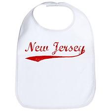 Red Vintage: New Jersey Bib