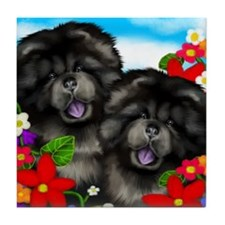 blackchows copy                       Tile Coaster