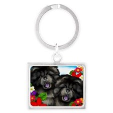 blackchows copy                 Landscape Keychain