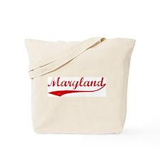 Red Vintage: Maryland Tote Bag