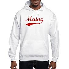 Red Vintage: Maine Hoodie