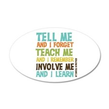Involve Me Wall Decal
