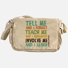 Involve Me Messenger Bag