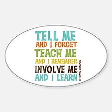 Involve Me Decal